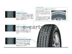 【国産メーカー4本価格】YOKOHAMAブルーアースAE-01155/80R13日本製造メーカーのヨコハマタイヤ