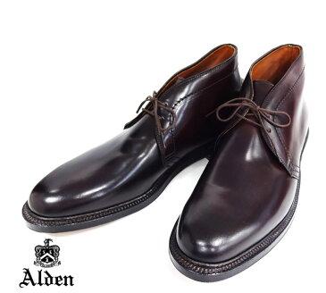 【ALDEN】オールデン チャッカブーツ ダークバーガンディ #1339 サイズ11D コードヴァン バリーラスト 名作1339 RM0415 【中古】