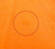 【FOXEYNEWYORK】フォクシーニューヨークシュークリームトップスパフスリーブカットソーオレンジサイズ40推定Lサイズ半袖レディース日本製RC0679【中古】