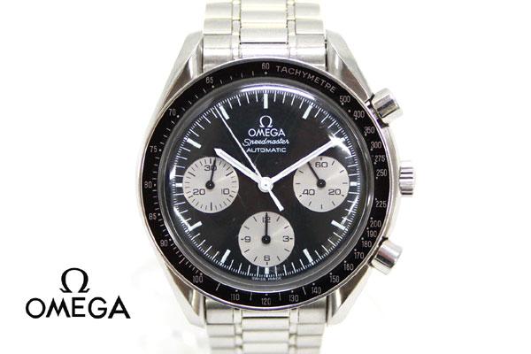 【OMEGA】オメガ スピードマスター オートマチック 自動巻き 黒文字盤 日本限定モデル 3510.52 メンズ ウォッチ 腕時計【中古】:リサイクルストア エコライフ