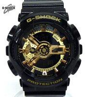【G-SHOCK】ジーショックGA-110GBブラックゴールドシリーズクオーツリストウォッチ