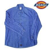 ディッキーズGL300SNBデニムシャツ大きいサイズあり!