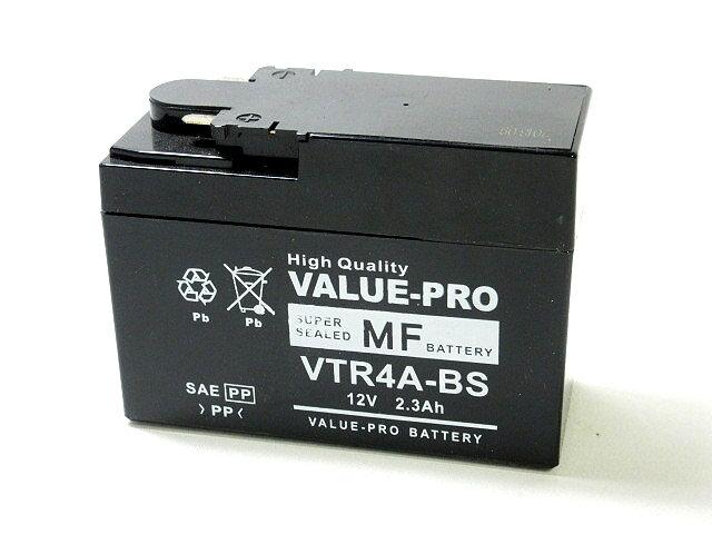 バイク用品, バッテリー  VALUE PRO VTR4A-BS ( YTR4A-BS FTR4A-BS GTR4A-BS DTR4A-BS) HONDA AB27 C50-93
