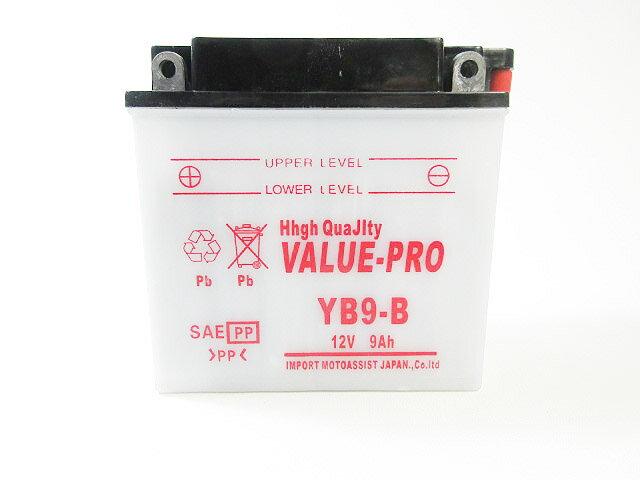バイク用品, バッテリー  VALUE PRO YB9-B HONDA CBX125F-93 JC11 CBX125-93 JC12125 CD125 CD125T 125TCM125T CD125TJC06 XL125R85- 125JF02
