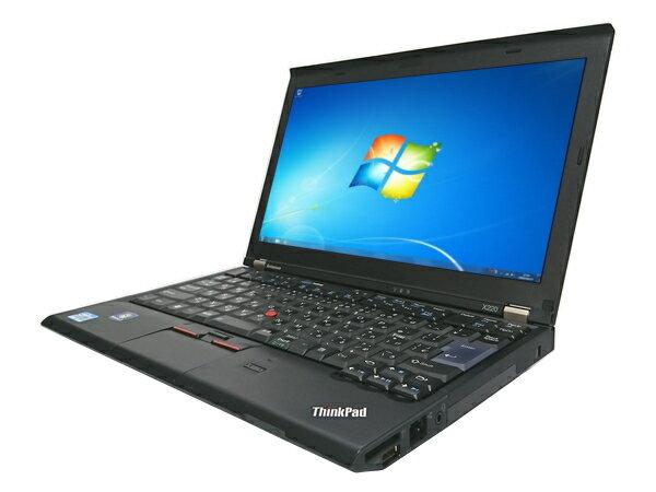 【中古パソコン】【新品SSD】[X04B] Lenovo ThinkPad X220 (Cor…