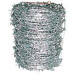 100M巻き 鬼針金 有刺鉄線♯14×100M ステープル付きバラ線ワイヤー