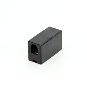 受話器用RJ9中継延長コネクター4極4芯1to1