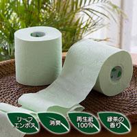 トイレットペーパーダブル緑茶の力35M/12ロール×6パック/ダブル/72ロール