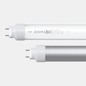 エコリカ LED直管形蛍光灯 昼白色相当 40形 ECL-LD40FAN