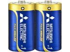【法人様限定・代引不可】三菱 アルカリ乾電池・単1 10本セット(2本入パック×5) LR20EXD/2S 5P