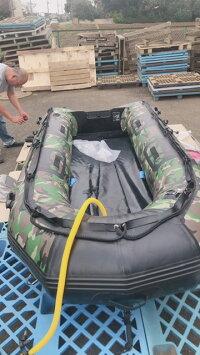 パワーボート米軍迷彩柄船外機取付可ロッドホルダー取付可船舶検査船舶免許不要の限界最大サイズ最大積載量421kg