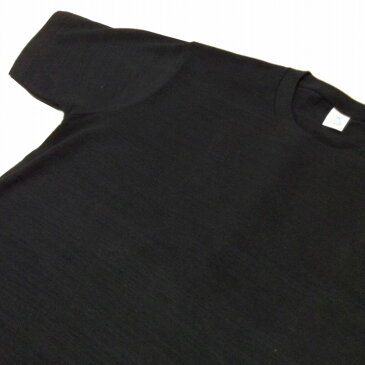 メンズTシャツ 味のあるスラブ生地に和柄を抜染しました。 かまわぬ 黒