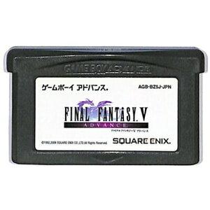 GBA FINAL FANTASY 5 Advance (только программное обеспечение) Game Boy Advance [Используется]