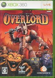 【Xbox360】オーバーロード 魔王サマ 復活の時 大判マップあり【中古】エックスボックス360 xbox360