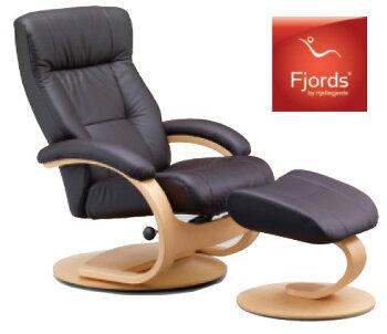 フィヨルド/マニアーナCベースチェア/オーナーズチェア/本革/1Pソファ/パーソナルチェア/リクライニング椅子/シモンズベッド/送料無料/家具