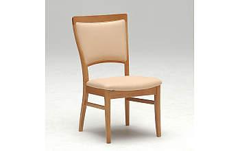 カリモクCT17351730/合成皮革/180ダイニング7点セット/食堂テーブル/食卓モダンセット/ナチュラル肘付き食堂イス/メローナチュラル