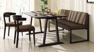 カリモク CA3700 CA3903 DA4980 食堂椅子 食卓椅子 ベンチ 135サイズ ダイニング4点セット 合成皮革張り 選べるカラー 食卓セット ダイニングテーブル ナチュラルモダン 送料無料 karimoku 日本製