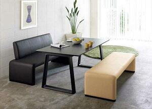 カリモク CS812A CS81WA DA5080 食堂椅子 食卓椅子 ベンチ LDソファー 150サイズ ダイニング3点セット 合成皮革張り 選べるカラー 食卓セット ダイニングテーブル ナチュラルモダン 送料無料 karimoku