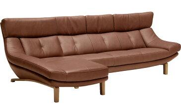 カリモクZU4639 ZU4648 シェーズロング ハイバック 本革リーベルソファ 肘掛長椅子 カウチソファ 送料無料 おすすめ おしゃれ 人気 日本製家具 正規取扱店