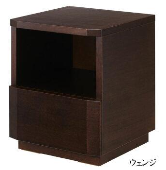 日本ベッド/NT-612836128461285ナイトテーブル/引き出し1杯/シンプル/ネオノルディシリーズ