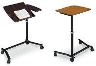 1Pソファに便利/サイドテーブル/高さ調整可能ソファテーブル/コーヒーテーブル/ハイタイプ/キャスター/ヨーク/送料無料