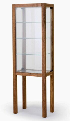 レグナテック ルーシュ キュリオ45 飾り棚 キュリオケース ガラス 木製 ウォールナット ブラックチェリー オーク 送料無料 日本製