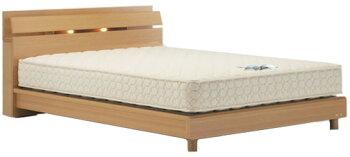 フランスベッド/ネクストランディ904C/シングル/レッグタイプ・脚付き/小棚・照明付き/フレームのみ