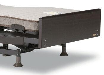 フランスベッド/3モーター/電動リクライニングベッド/レステックス-02F/フラット/介護/自立支援/ウェイクアップベッド/シングル/送料無料/送料込み