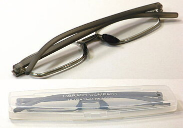超薄型 携帯用おしゃれ老眼鏡・既製老眼鏡【LC-5621】リーディンググラス・薄型コンパクト