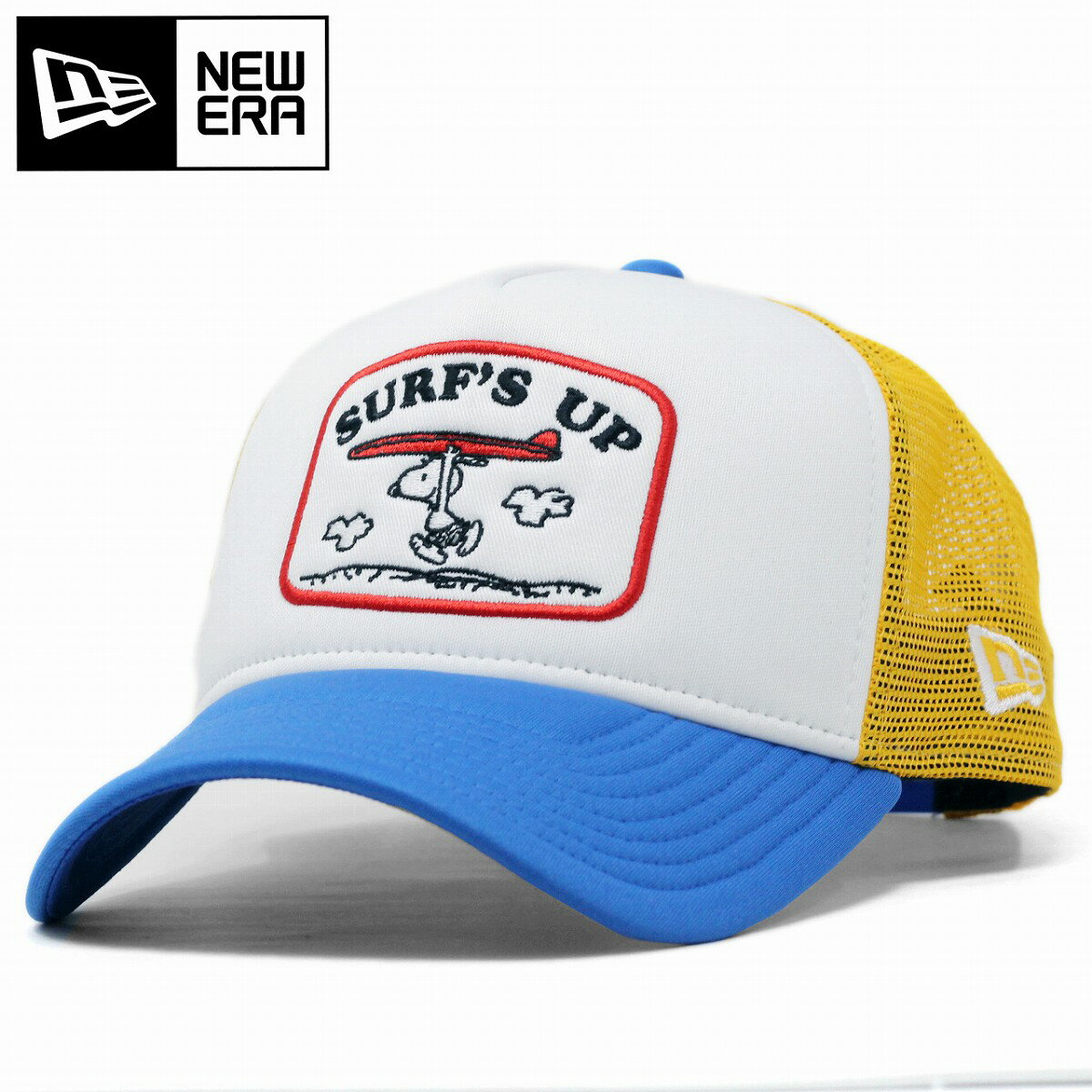 メンズ帽子, キャップ PENUTS 9FORTY A-Frame NEWERA baseball cap