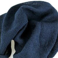 日本製ニット帽薄い軽い麻綿レディース帽子メンズ室内着用医療ケアキャップネイビー[beaniecap](ぼうしニットキャップサマーニット帽サマーニットキャップサマーワッチキャップワッチ涼しい夏秋)