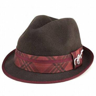 ハット 秋 メンズ サンタナ 中折れハット フェルト 帽子 冬 ぼうし 音楽 ファッション CARLOS SANTANA