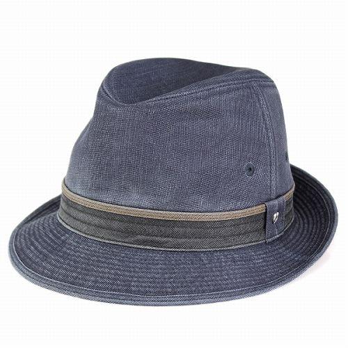 mila schon 春夏 帽子 メンズ ミラショーン ハット 中折れ ポリエステル製 紳士ハット フェドラ ネイビー 紺 男性 ギフト 高級 [ fedora ] 紳士帽子 おしゃれ 中折れ帽子 中折れハット メンズハット メンズ帽子 40代 50代 60代 ファッション アメカジ ぼうし