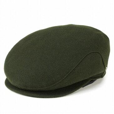 ハンチング ウール アイビーキャップ 帽子 メンズ フランネル ウィゲン wigens シンプルデザイン オリーブ 紳士 男性用 ギフト トラッド アウトドア [ivy cap] (ぼうし おしゃれ オシャレ ハンチング帽子)ヴィゲーンズ