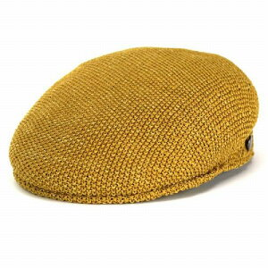 Borsalino ボルサリーノ ハンチング帽 メンズ 春夏 サーモニット サイズ調整可 プロムナード ベージュ [ivy cap] 春夏 送料無料(ハンチング帽子 サマーニット帽子 紳士帽子 40代 50代 60代 70代 ファッション 通販 ブランド帽子 中央帽子 つば付きニット帽 つば付き帽子)