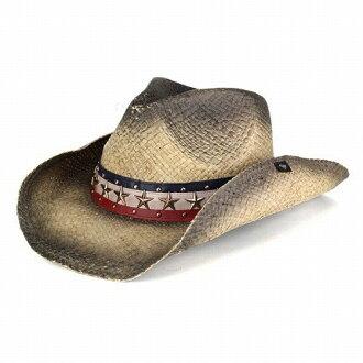 彼得格林彼得格林牛仔帽美國男裝女裝軟呢帽稻草帽子 pgd9252 霍根黑色米色系列春夏 [牛仔帽],[草帽] (冠帽和黑色淚滴帽子眼淚掉帽子西方帽子牛仔帽)