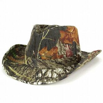 牛仔帽男人長滿青苔的橡木軍事狩獵偽裝驅蚊水棉分手偽裝 (NBU) (冠帽和男士帽子男式帽子紳士帽子西方帽子頭戴呢帽帽牛仔帽) [牛仔帽]