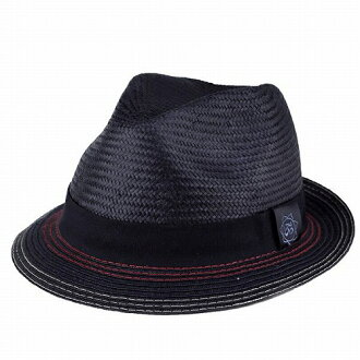 帽子黑色稻草帽子男式桑塔納帽子春夏季帽子整體草帽 (帽帽子帽帽子和帽男式帽子男士帽子紳士帽甚而帽子秸稈 30 多歲 40 多歲 50 年代 60 年代 70 年代時尚甚而帽子時尚店) [草帽]