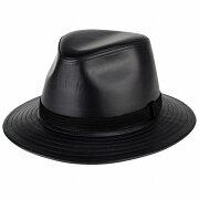イタリアン ワイドブリム カシュケット ノームコア ブラック ブランド ファッション