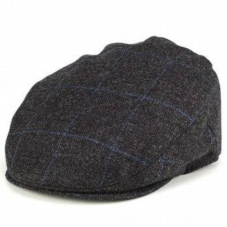 狩獵克利斯蒂 CHRISTYS 倫敦帽男裝粗花呢檢查模式秋冬季傳統