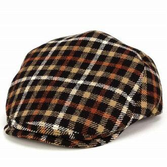 獵帽DAKS鴨烏路德舌頭秋天冬天人帽子黑色房屋檢查