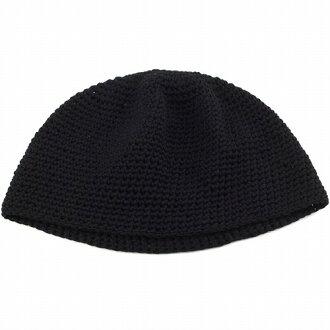 針織的帽四季室內帽男子女子棉針織短手錶棉帽子帽子抗癌症醫院帽和日本製造黑色 (黑色春天夏天卡蒙劑帽子店男式帽子童帽針織淨手錶帽)
