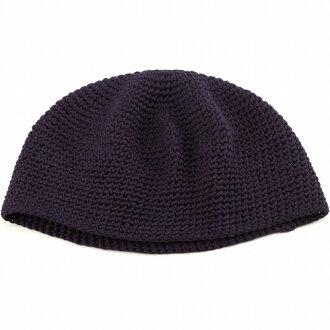 綠色針織帽所有季節室內帽男裝女裝棉都針織短手錶棉帽皮膚醫療帽子帽型抗癌藥物蓋醫院章和日本制都針織棉 D 紫色紫色深紫色 [豆豆,和平