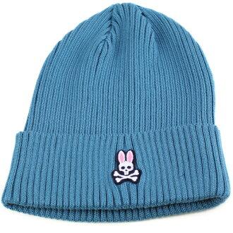 心理兔子男式針織的帽心理兔子女裝劑卡蒙春/夏心理劑帽休閒時尚服裝時尚兔子帽子品牌針織的藍色藍色帽帽是 nit 帽