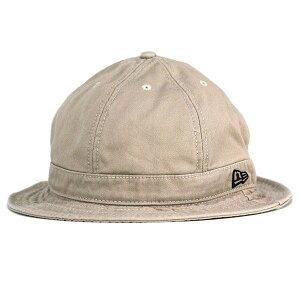 NEWERA ハット メンズ メトロハット バケットハット ニューエラ 帽子 メトロ 無地 new era EXPLORER KHK ストリート カジュアル メンズコーデ ハット コットン100 / カーキ×マホガニー [ bucket hat ]