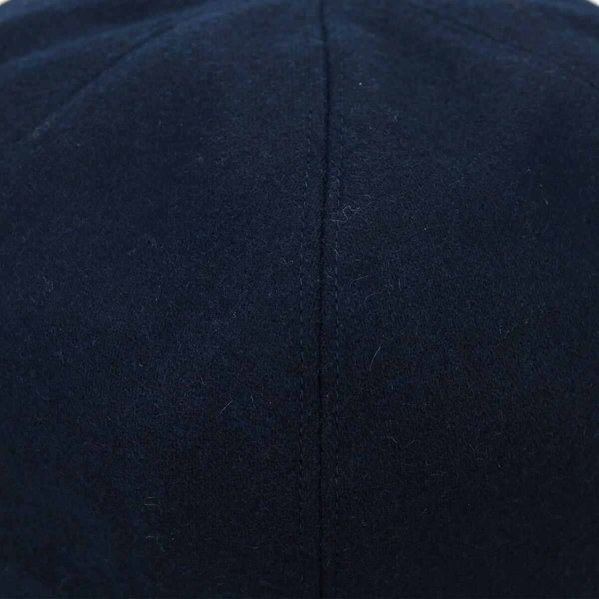 racal ベレー帽 8パネル 秋冬 ラカル ウール ベレー メンズ ブランド 国産 帽子 日本製 フリーサイズ ゴムアジャスター付 サイズ調整 ベレー レディース 無地 シンプル トレンド 小物 ファッション メンズコーデ / 紺 ネイビー [ beret ]