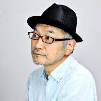 マツイハット中折れ麻100%日本製MATSUI帽子メンズ春夏中折れハットシナマイリネン中折れ帽紳士中折れ帽子りぼん涼しいMLLL3L大きいサイズサイズ調整シンプル無地/黒ブラック[fedora]プレゼントギフト帽子
