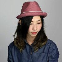 ニューエラ/ハット/メンズ/帽子/コットン/春夏/FEDORACORDLANE/e0000551/レッド