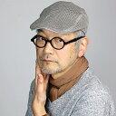 STETSON メンズ ハンチング 春夏 帽子 ステットソン 日本製 フリーサイズ stetson ハンチング帽 無地 シンプル 麻 ニット 涼しい リネン アイビーキャップ 人気アイテム 紳士 カジュアル ブランドロゴプレート / 灰色 グレー [ ivy cap ]