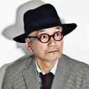 クリスティーズ ハット 好きな形を自由につくれるオープンクラウンハット 帽子 メンズ レディース CHRISTYS' LONDON Ealing Poet 秋冬 クラ黒 ブラック [boater hat](40代 50代 60代 ファッション 紳士帽子 メンズハット ぼうし) フェルトハット フェルト ハット